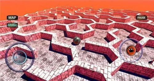 史诗迷宫滚动球3D截图1