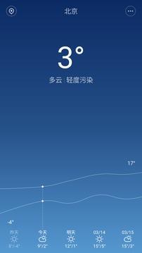 miui天气截图1