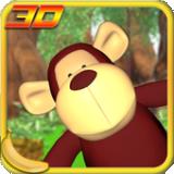 猴子接水果