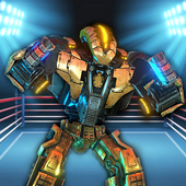真正的机器人拳击